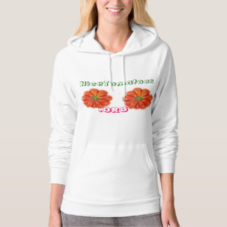 Nice Tomatoes for Breast Cancer Awareness Hoodie
