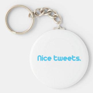 Nice tweets 4 keychains