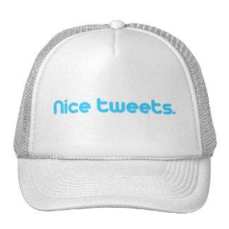 NICE TWEETS TRUCKER HAT