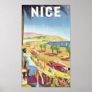 Nice Vintage Travel Poster