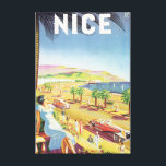 """Nice Vintage Travel Poster Canvas Print<br><div class=""""desc"""">This product features Nice vintage travel poster artwork.     Like this design,  but you want to tweak it? Just click on &quot;Customize&quot; to add text or adjust things to your liking.</div>"""