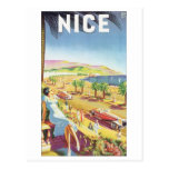Nice Vintage Travel Poster Post Card