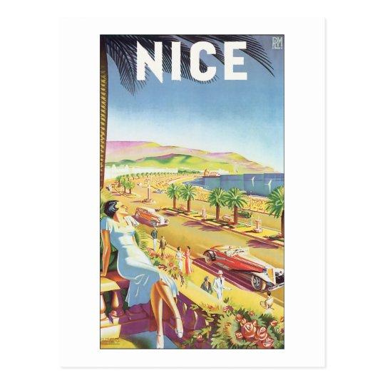 Nice Vintage Travel Poster Postcard