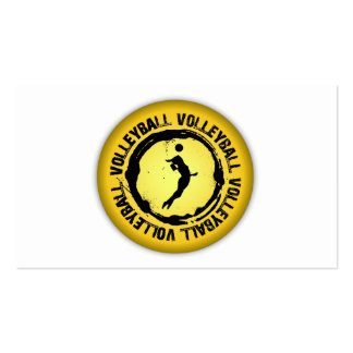 Nice Volleyball Seal Female Business Card