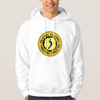 Nice Volleyball  Seal (Female) Hoodie