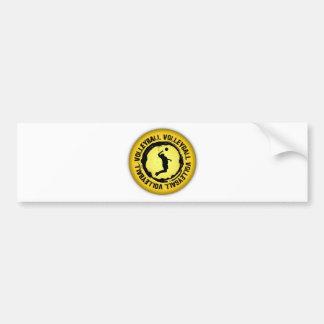 Nice Volleyball  Seal (Male) Bumper Sticker