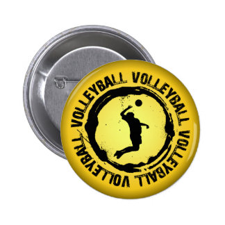 Nice Volleyball  Seal (Male) Buttons