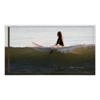 nice wave poster