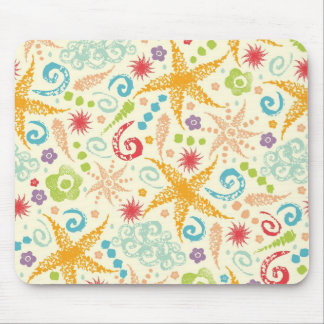 Nice weather abstract pattern mouse pad
