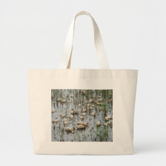 Nice Weather For Ducks Tote Bags