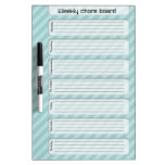 Nice weekly chore list dry erase board