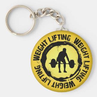 Nice Weight Lifting Seal Keychain