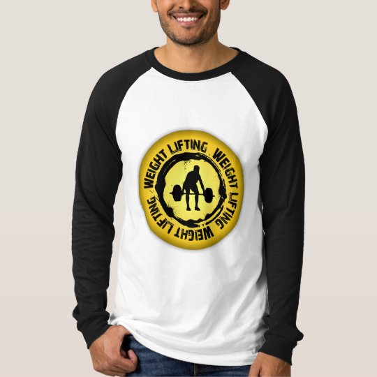 Nice Weight Lifting Seal T-Shirt