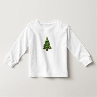 NICE WHITE LOONG SLEEVE T-SHIRT : CHRISTMAS