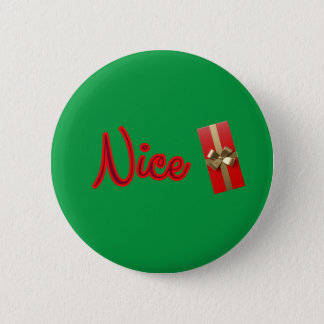 Nice with Holiday Gift Button