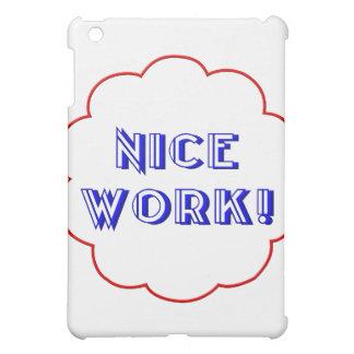 Nice work! iPad mini case