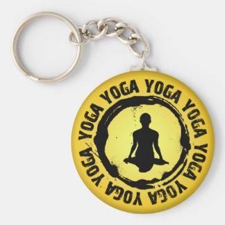 Nice Yoga Seal Keychain