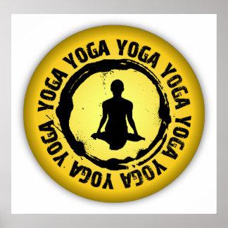Nice Yoga Seal Posters