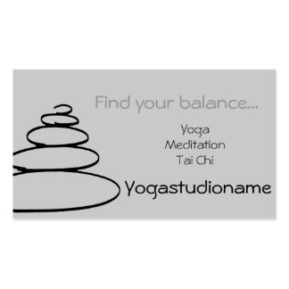 Nice Yogastudio buisness card Double-Sided Standard Business Cards (Pack Of 100)