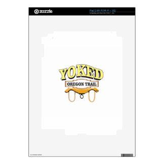 nice yoked ot logo decal for the iPad 2