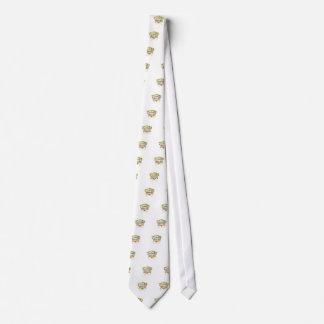 nice yoked ot logo neck tie