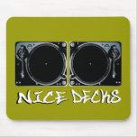 Nicedecks2 Mouse Pad