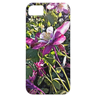 Nicely Lighted Purple Flower Iphone 5 Case