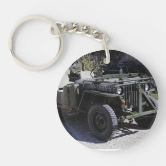 Nicely Restored Willys Jeep Keychain