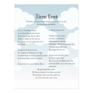Nicene Creed Postcard