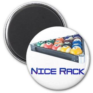 NiceRack Blue Fridge Magnet