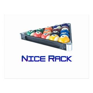 NiceRack Blue Postcard