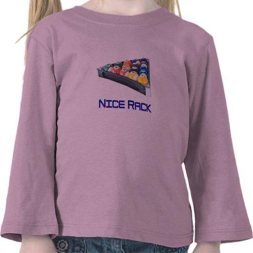 NiceRack Blue Shirts