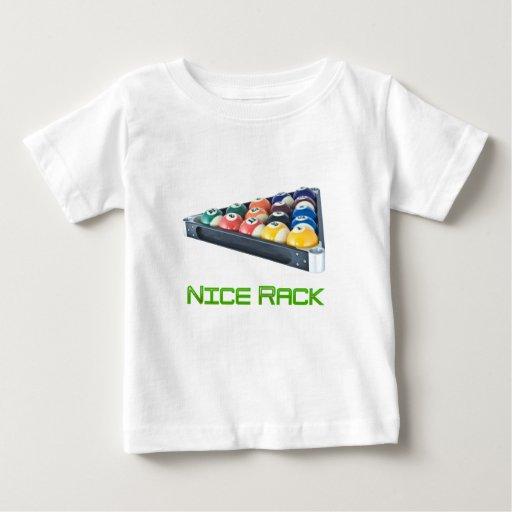 NiceRack Green Baby T-Shirt