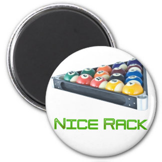 NiceRack Green Fridge Magnet