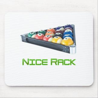 NiceRack Green Mousepad