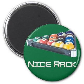 NiceRack White Fridge Magnets