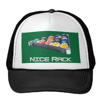 NiceRack White Trucker Hat