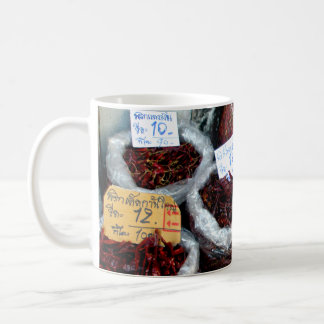 Nicey Spicy Chilies, Thailand Coffee Mug