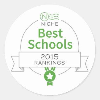 Niche 2015 Best Schools Sticker
