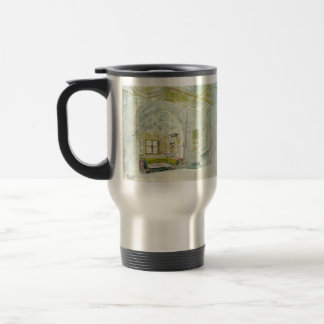 Niche space in the palace by Eugene Delacroix Coffee Mugs