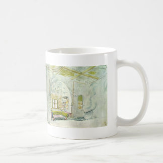Niche space in the palace by Eugene Delacroix Mugs