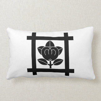 Nichiren sect orange lumbar pillow