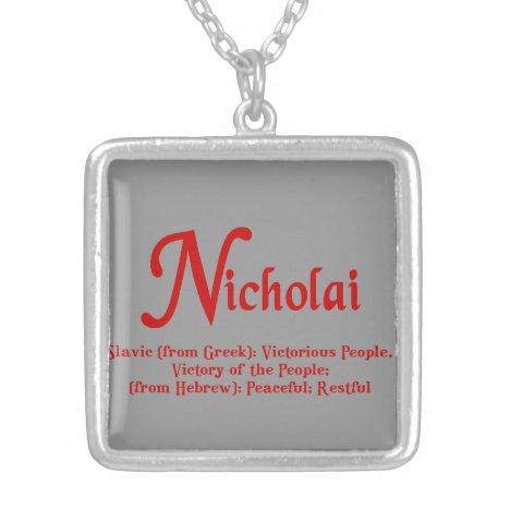 Nicholai Necklace
