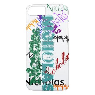 Nicholas Case iPhone 7 Name Case