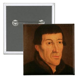Nicholas Copernicus, c.1776 Pin Cuadrado