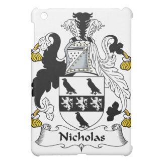 Nicholas Family Crest iPad Mini Cases