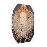 Nicholas Hilliard - reina Elizabeth I de Inglaterr Lona Envuelta Para Galerias