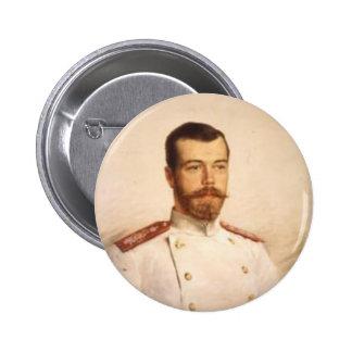 Nicholas II 2 Inch Round Button