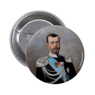 Nicholas_II_Alexandrovich_by_N.Shilder Pin Redondo 5 Cm