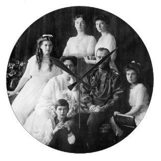Nicholas II and Family Clock